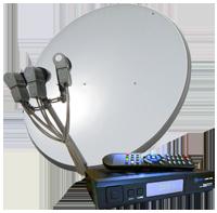 Установка спутникового телевидения в Киеве